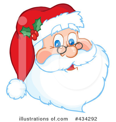 Santa Clipart #434292 by Hit Toon