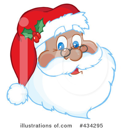 Santa Clipart #434295 by Hit Toon
