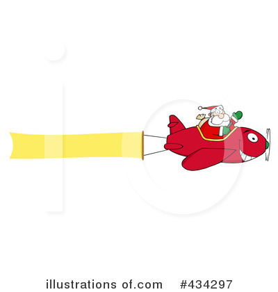 Santa Clipart #434297 by Hit Toon