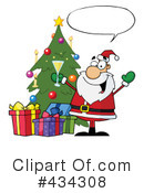 Santa Clipart #434308 by Hit Toon