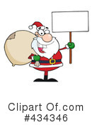 Santa Clipart #434346 by Hit Toon