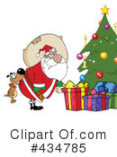 Santa Clipart #434785 by Hit Toon