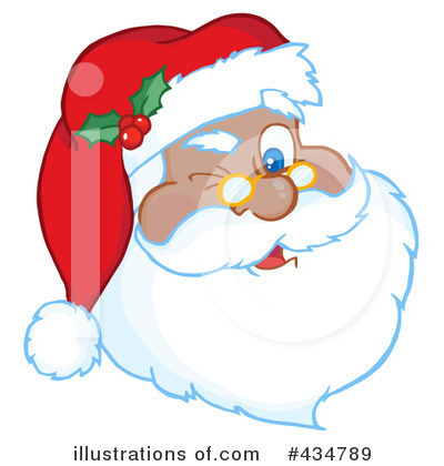 Santa Clipart #434789 by Hit Toon