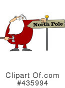 Royalty-Free (RF) Santa Clipart Illustration #435994