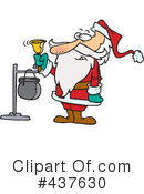 Royalty-Free (RF) santa Clipart Illustration #437630