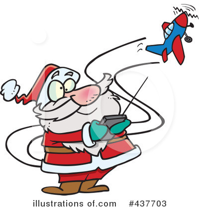 Santa Clipart #437703 by toonaday