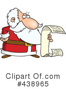 Santa Clipart #438965 by toonaday