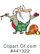Royalty-Free (RF) Santa Clipart Illustration #441322