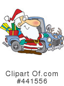 Royalty-Free (RF) santa Clipart Illustration #441556