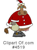 Royalty-Free (RF) Santa Clipart Illustration #4519