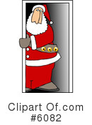Royalty-Free (RF) Santa Clipart Illustration #6082