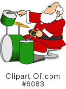 Royalty-Free (RF) Santa Clipart Illustration #6083