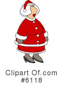 Royalty-Free (RF) Santa Clipart Illustration #6118