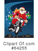 Royalty-Free (RF) Santa Clipart Illustration #64255