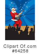 Royalty-Free (RF) Santa Clipart Illustration #64258