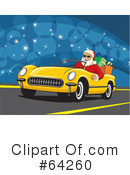 Royalty-Free (RF) Santa Clipart Illustration #64260