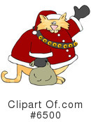 Royalty-Free (RF) Santa Clipart Illustration #6500