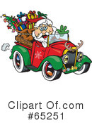 Royalty-Free (RF) Santa Clipart Illustration #65251