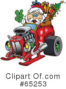 Royalty-Free (RF) Santa Clipart Illustration #65253