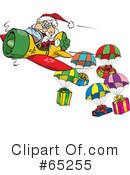 Royalty-Free (RF) Santa Clipart Illustration #65255