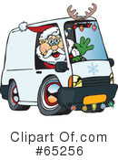 Royalty-Free (RF) Santa Clipart Illustration #65256
