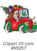 Royalty-Free (RF) Santa Clipart Illustration #65257
