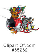 Royalty-Free (RF) Santa Clipart Illustration #65262