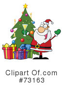 Santa Clipart #73163 by Hit Toon