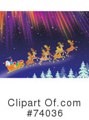 Royalty-Free (RF) Santa Clipart Illustration #74036