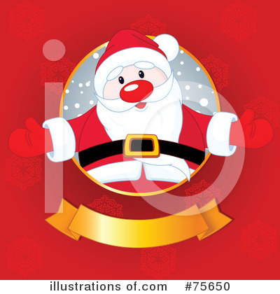 Santa Clipart #75650 by Pushkin