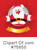 Royalty-Free (RF) Santa Clipart Illustration #75650