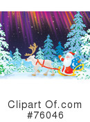 Royalty-Free (RF) Santa Clipart Illustration #76046