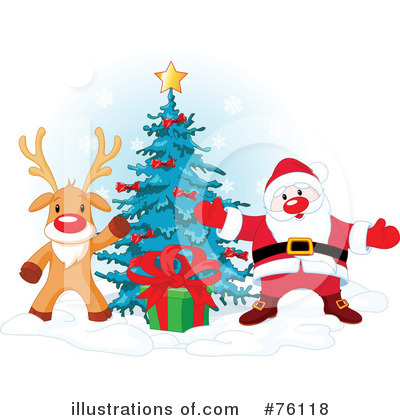 Rudolph Clipart #76118 by Pushkin