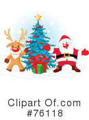 Royalty-Free (RF) Santa Clipart Illustration #76118