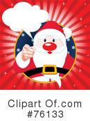 Santa Clipart #76133 by Pushkin