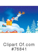 Royalty-Free (RF) Santa Clipart Illustration #76841