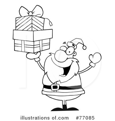 Santa Clipart #77085 by Hit Toon