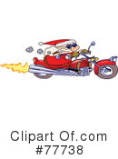 Royalty-Free (RF) Santa Clipart Illustration #77738