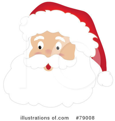 Santa Clipart #79008 by Pams Clipart