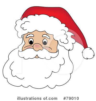Santa Clipart #79010 by Pams Clipart
