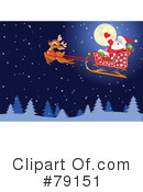Royalty-Free (RF) Santa Clipart Illustration #79151