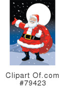 Santa Clipart #79423 by Lawrence Christmas Illustration