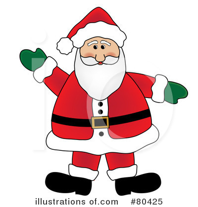 Santa Clipart #80425 by Pams Clipart