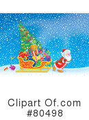 Royalty-Free (RF) Santa Clipart Illustration #80498