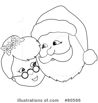 Santa Clipart #80566 by Pams Clipart