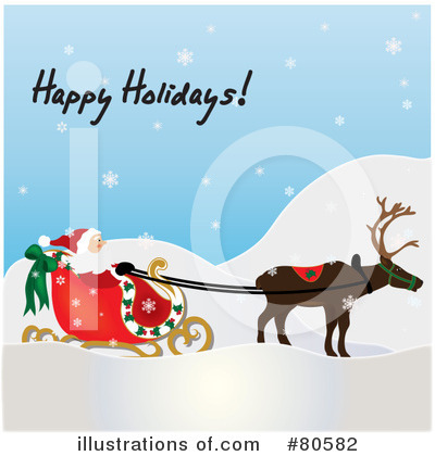 Santa Clipart #80582 by Pams Clipart
