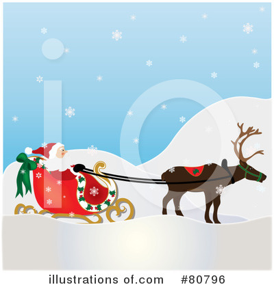 Santa Clipart #80796 by Pams Clipart