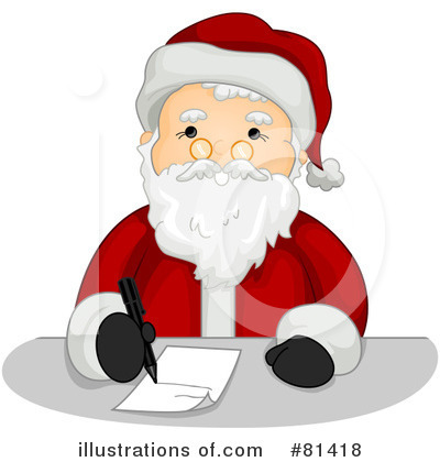 Santa Clipart #81418 by BNP Design Studio