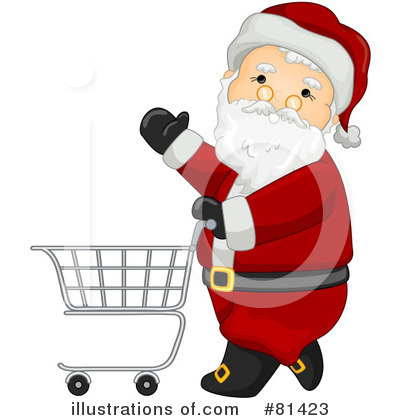 Santa Clipart #81423 by BNP Design Studio