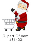 Royalty-Free (RF) Santa Clipart Illustration #81423